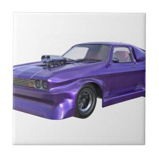 2016 Purple Muscle Car Tile