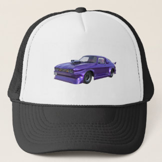 2016 Purple Muscle Car Trucker Hat