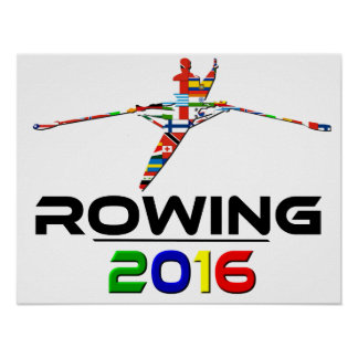 2016: Rowing Poster
