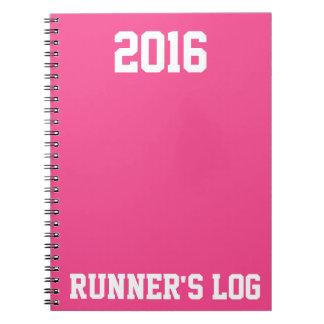 2016 Runner's Log: Running Activity & Training Notebook