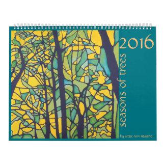 2016 Seasons of Trees Wall Calendars