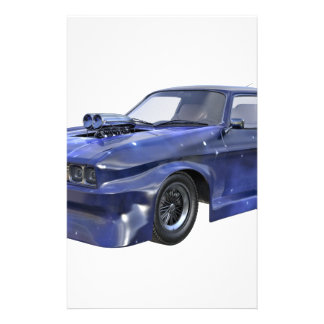 2016 Star Blue Muscle Car Stationery