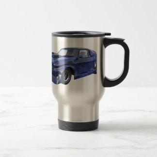2016 Star Blue Muscle Car Travel Mug