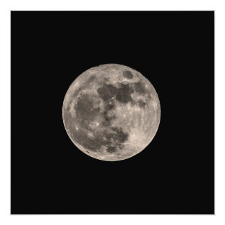 2016 Super Moon Photo Print