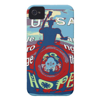 2016 USA Have a Nice Day Hillary Stronger Together Case-Mate iPhone 4 Cases