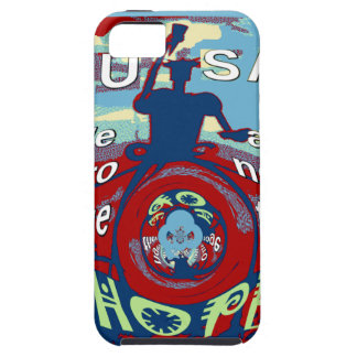 2016 USA Have a Nice Day Hillary Stronger Together Tough iPhone 5 Case