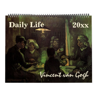 2016 Vincent van Gogh People and Daily Life Calendars