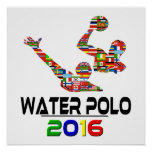 2016:Water Polo Print