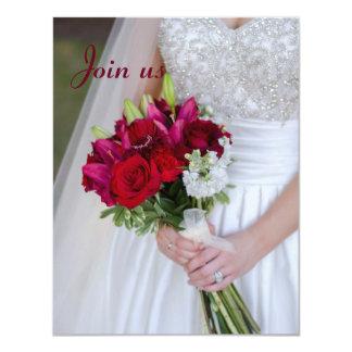2016 Wedding Bridal Shower| Elegant Classic 11 Cm X 14 Cm Invitation Card