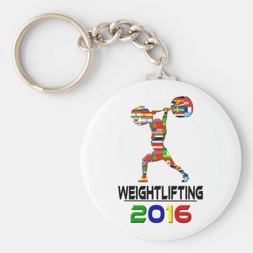 2016: Weightlifting Keychains