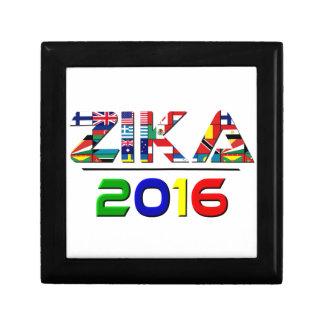 2016 ZIKA SMALL SQUARE GIFT BOX