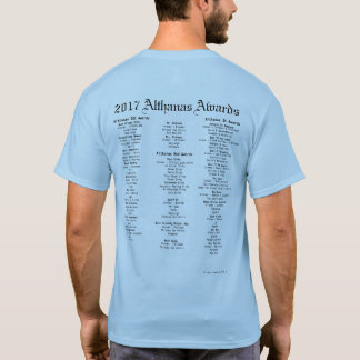 2017 Althanas Awards Nominee and Winners T-Shirt
