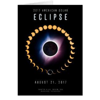 2017 American Solar Eclipse - Card