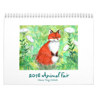 2017 Animal Fair Calendar