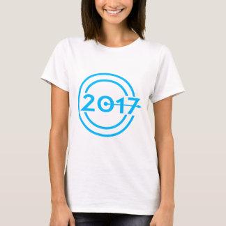 2017 Blue Date Clock T-Shirt
