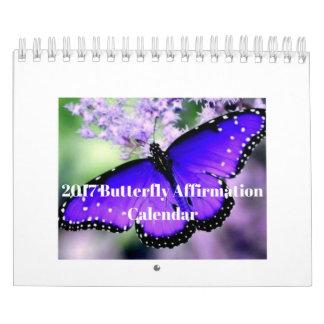 2017 Butterfly Affirmation Calendar