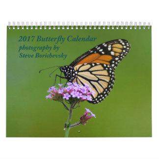2017 Butterfly Calendar
