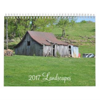 2017 Calendar - Scenes Around Tennessee & Vermont