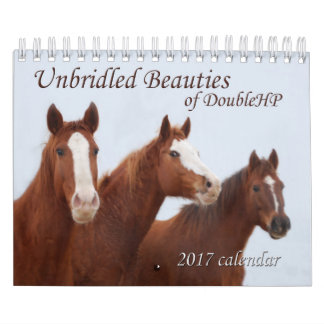 2017 Calendar Unbridled Beauties of DoubleHP