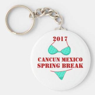 2017 Cancun Mexico | Spring Break Souvenir Key Ring