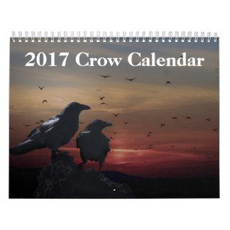 2017 Crow Raven Calendar