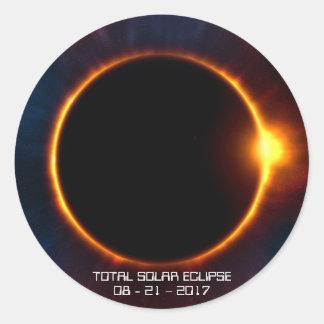 2017 Dark Solar Eclipse Sticker