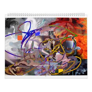2017 Digital Abstractions ART CALENDAR
