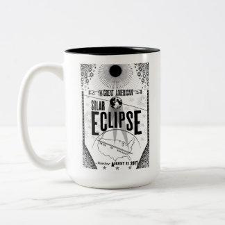 2017 Eclipse Showprint-Style Poster Mug