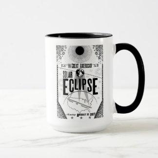 2017 Eclipse Showprint-Style Poster Ringer Mug
