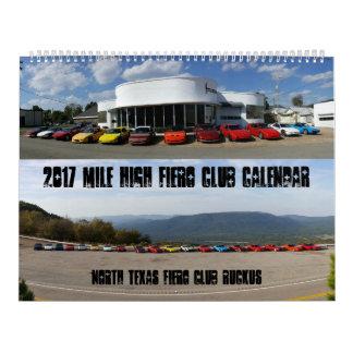 2017 Fiero Calendar