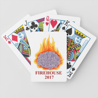 2017 Flaming Brain Firehouse Playing Cards