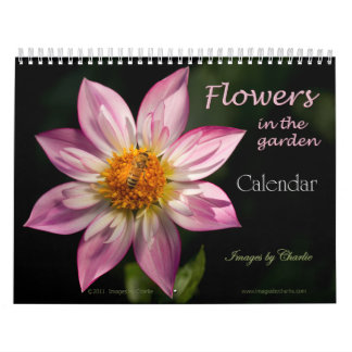 2017 Flowers Calendar (or select any start date)