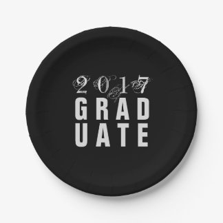 2017 Graduate Party Paper Plate