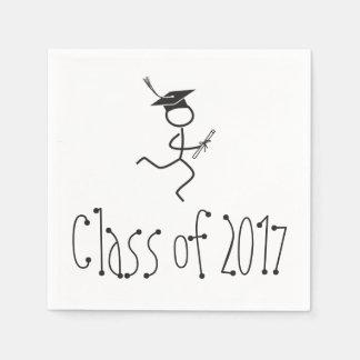 2017 Graduation Runner © Running Grad Party Supply Disposable Napkin