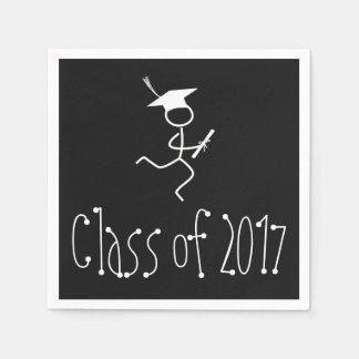2017 Graduation Runner © Running Grad Party Supply Disposable Napkins