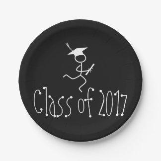 2017 Graduation Runner © Running Grad Party Supply Paper Plate