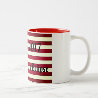 2017 Great American Eclipse Two-Tone Coffee Mug