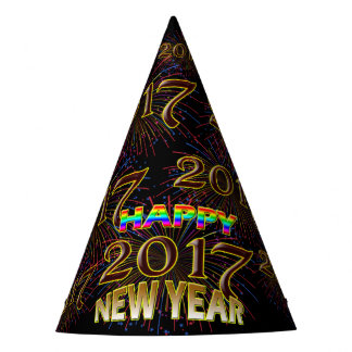 2017 Happy New Years Eve Unique Holiday Party Hat