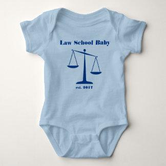 2017 Law School Baby Romper (Blue Ink) Baby Bodysuit