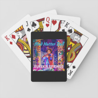 2017 Mad Hatter Ball playing cards