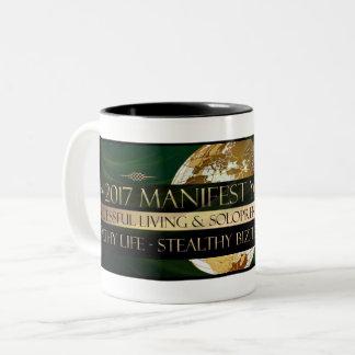 2017 Manifesting Your Life (TM) Two-Tone Coffee Mug