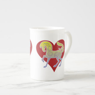2017 Mink Mug Runequine Heart Bone China mug