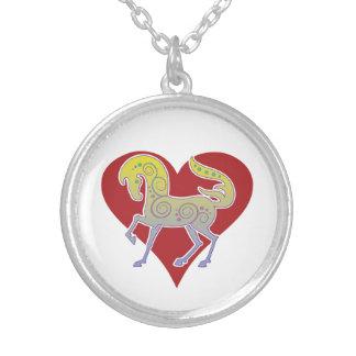 2017 Mink Style Runequine Heart Necklace 2