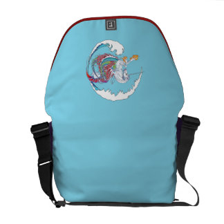 2017 Mink Tote Hippicorn Messenger Bag