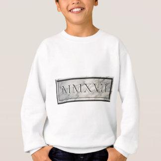 2017 MMXVII Marble Sweatshirt
