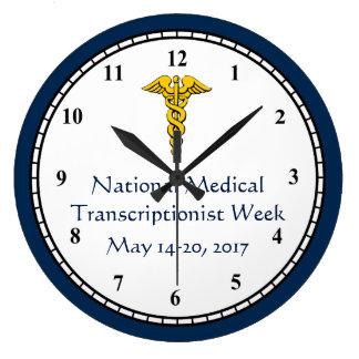 2017 National MT Week Large Clock