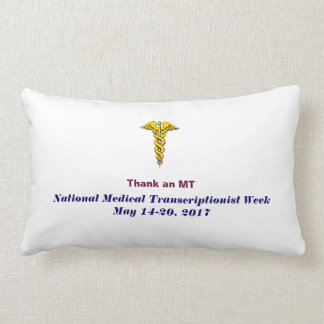 2017 National MT Week Pillow