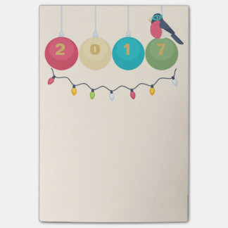 2017 New Year Post-it® Notes