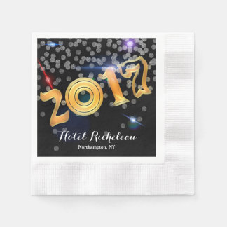 2017 New Year's Eve Celebration Disposable Napkin
