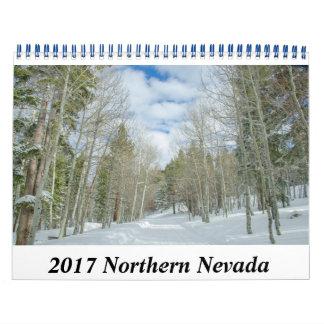 2017 Northern Nevada Calendar